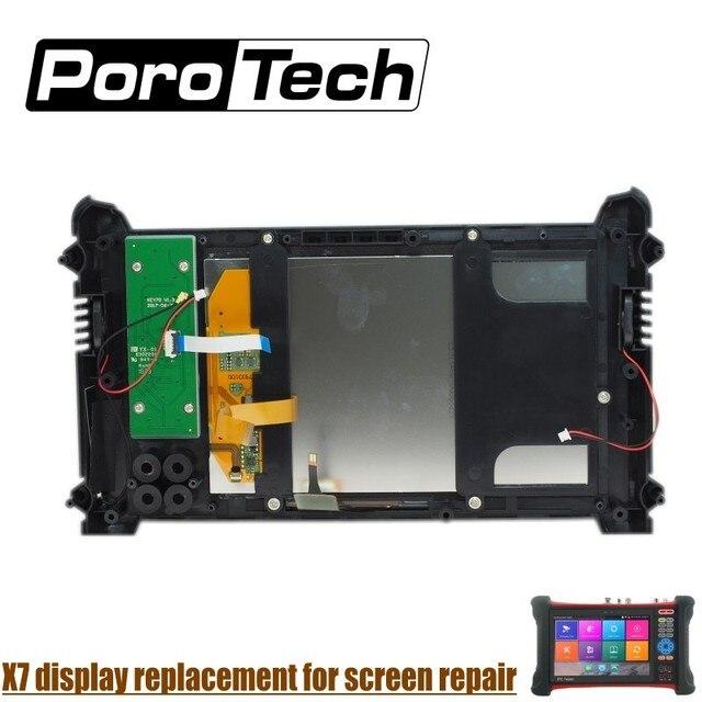 X7/X9 CCTV テスター シリーズの交換画面タッチディスプレイ修理ディスプレイの交換タッチ画面の修理