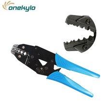 Rg58 rg59 rg6 uso da ferramenta para cravar bnc cabo coaxial frio conectores sma coaxial frisado alicate crimper fio elétrico