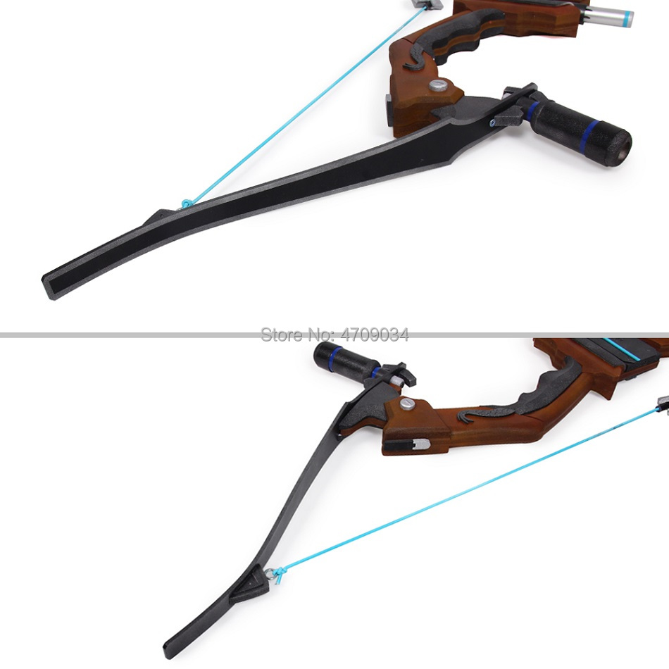 Overwatch Hanzo Scion Weapon Cosplay Replica Bow Prop 2