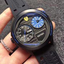 New sports car watch fashion casual fan Dual time zone  quartz mens watches