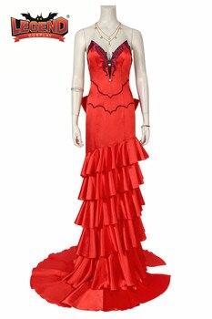 ファイナルファンタジー vii 衣装 ffvii FF7 リメイクエアリス · コスプレ赤ドレス大人ハロウィンパーティードレスカスタムメイド
