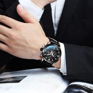 Image 5 - KADEMAN עסקי גברים שעונים למעלה מותג יוקרה עמיד למים קוורץ שעוני יד תאריך אופנה מזדמן הלם עמיד Relogio Masculino