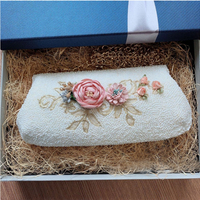 Angelatracy Shell Purse White Pearl Coin Bead Women Key Buckle Handmade Daily Holder Beads Embroidery Zipper Wallet Shoulder Bag