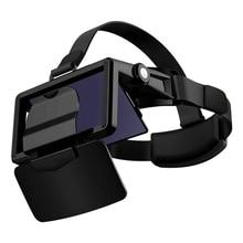 แว่นตาVRแว่นตาVirtual Reality VRชุดหูฟังกดสำหรับสมาร์ทโฟนกระดาษแข็งCasqueโทรศัพท์สมาร์ทAndroid 3Dเลนส์