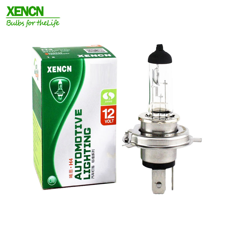 XENCN H4 P43t 12V 60/55W 3200K Clear Series Original More Brightness Car Headlight OEM Quality Halogen Bulb Auto Lamps 2pcs
