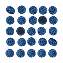 25 Pack 2 Inch 50mm Quick Change Roloc Easy Strip & Clean Discs -Removes Rust,Strips Paint,Cleans Welds