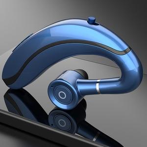 Image 3 - Q10 condução sem fio earbud orelha gancho fone de ouvido bluetooth 210mah handfree com microfone para iphone12 11 8 samsung huawei xiaomi