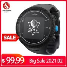 Relógios de golfe com gps range finder inteligente rastreador amigo golfe para golfe esporte preloaded 40000 + em todo o mundo campos de golfe dreamsport
