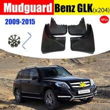 Für Mercedes Benz X204 GLK 200 260 300 350 auto Kotflügel Schlamm Klappen auto zubehör Schlamm flaps Splash Guards Kotflügel 2008 2018