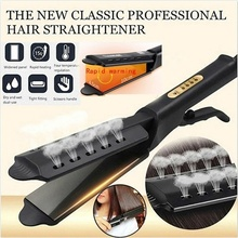 Portable Ceramic Hair Straightener Ionic Flat Iron Four-gear