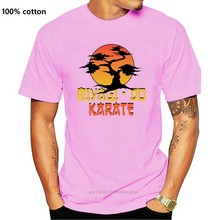 Miyagi - Do Karate T-Shirt - Direct from StockistNew Arrival Male Tees Casual Boy T-Shirts Tops Discounts