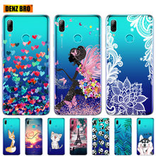 Voor Huawei P Smart 2019 Gevallen Siliconen Soft Tpu Back Cover Voor Huawei P Smart 2019 Cover POT-LX1 POT-LX3 Telefoon Fundas(China)