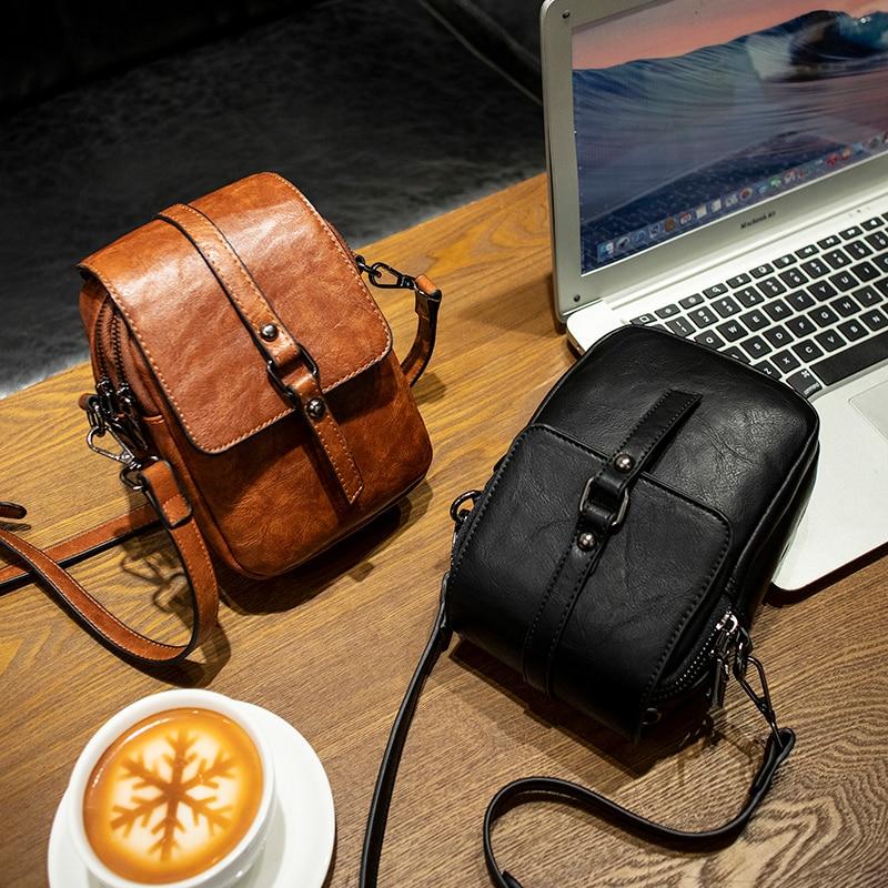 SCV Luxury Clutch Handbags Women Messenger Bag Leather Shoulder Bag Vintage Small Package Female Crossbody Bags bolsa feminina