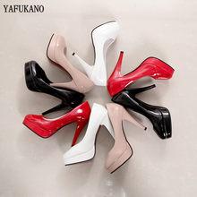 Тонкие Туфли с закрытым носком, черные рабочие туфли, привлекательные красные свадебные туфли на высоком каблуке, вечерние модельные туфли-...