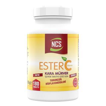 NCS Ester Vitamin C Black Elderberry 180 Tablet цена 2017
