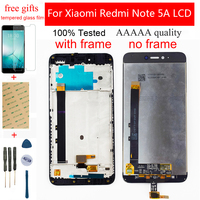 5.5 for for para xiaomi redmi nota 5a display lcd para redmi note5a mdg6 display lcd tela de toque digitador assembléia módulo quadro|LCDs de celular| |  -
