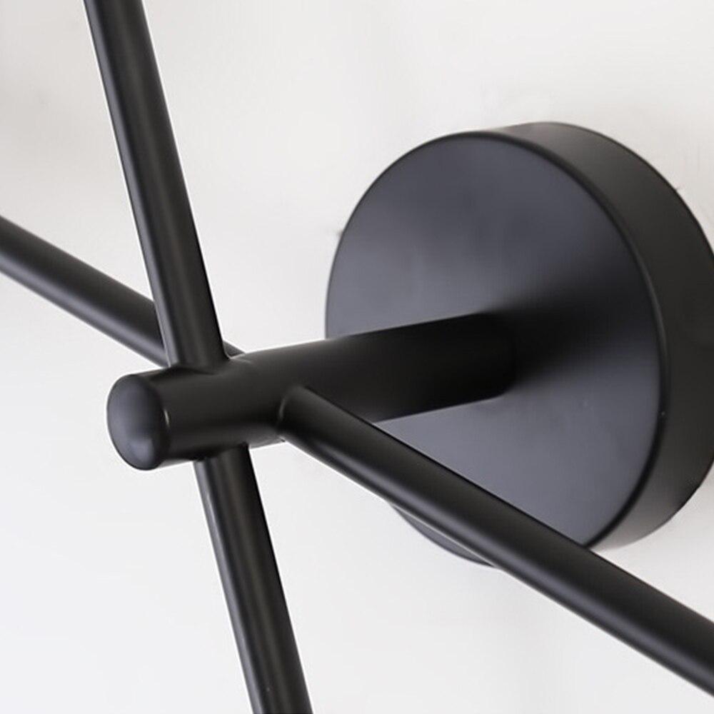 decoracao para casa simples geometrica circular luz do banheiro quarto sala estar 03