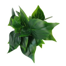 Artificial Green Leaf Plants Home Office Wedding Garden Decoration