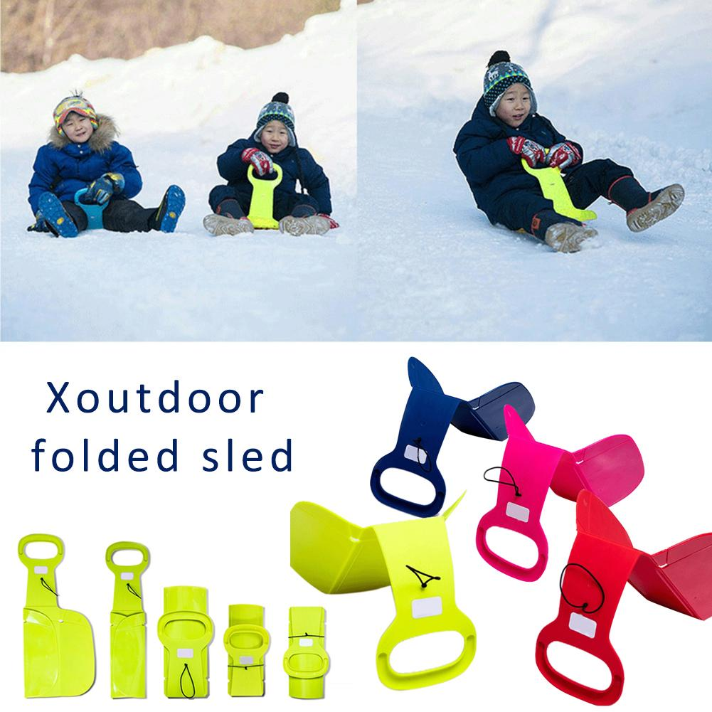 Outdoor Sports Skiing Pad Sled Snowboard For Kids Adult Children Winter Thicken Sand Grass Sledge Snow Luge