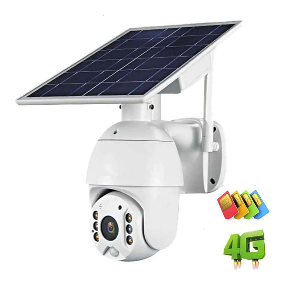 WakeView HD 1080P 4G батарея солнечная наружная камера видеонаблюдения Wifi камера домашняя Камера Безопасности Водонепроницаемая PIR мобильное приложение
