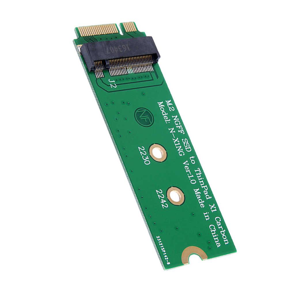 M.2 ngff sata ssd, para 20 + 6 pinos 26 pinos adaptador para lenovo thinkpad x1 carbono