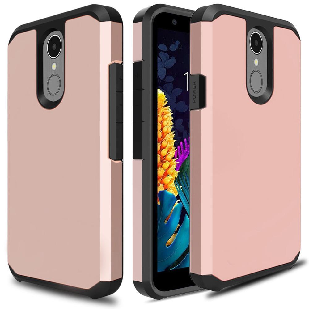 Phone Case For LG K40 K30 2019 Aristo 4+ Plus Solo LTE Harmony 3 K12+ Journey LTE Escape Plus Case Shockproof Hybrid Hard Cover