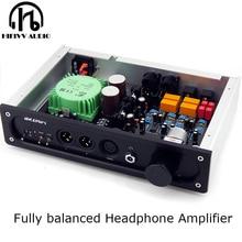 Wzmacniacz słuchawkowy z HIFI pełnego wejścia wyjściowego XLR niewielkie zniekształcenia wzmacniacz słuchawkowy klasy A 6.35MM zbalansowany wzmacniacz słuchawkowy
