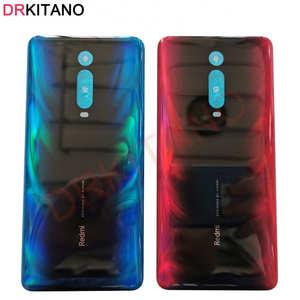 Image 1 - Originele Nieuwe Voor Xiaomi Mi 9T Pro Back Battery Cover Deur Redmi K20 Pro Achter Behuizing Glas Case Voor xiaomi Mi 9T Batterij Cover