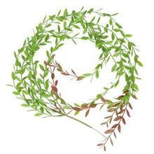 Artificial Green Vines Fake Greenery Leaves Hanging Plants Rattan Simulations For Wedding Party Garden Wall Home Decoration simulations
