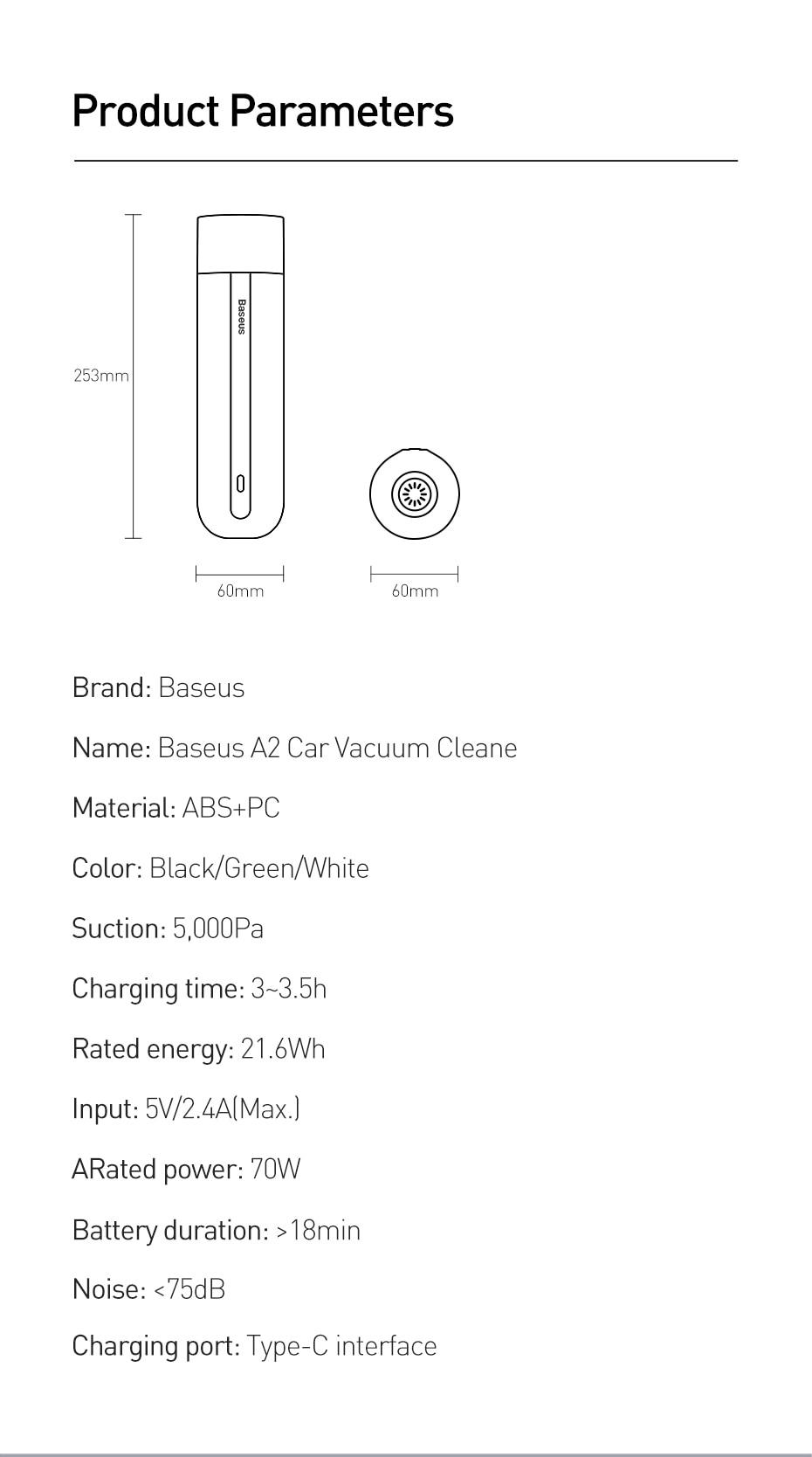Car Vacuum cleaner - horizoncare.in