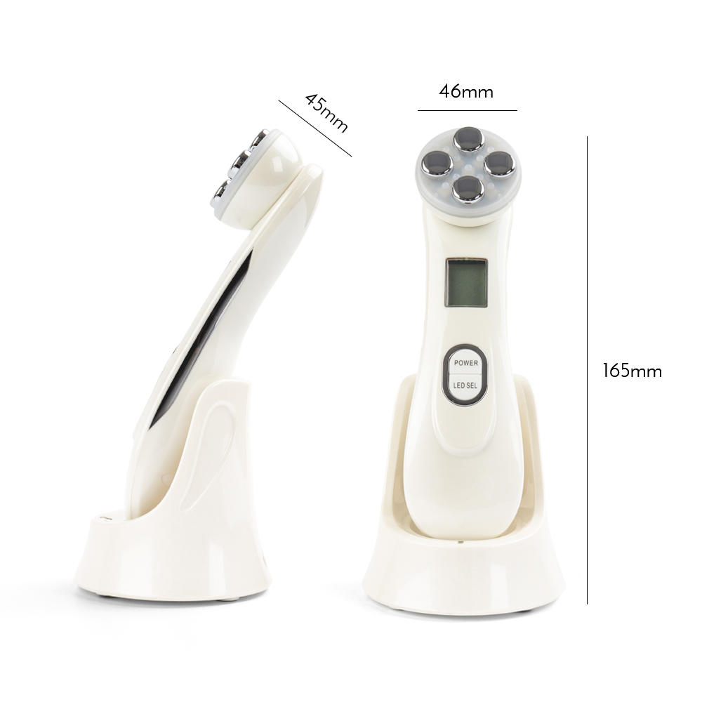 Купить с кэшбэком RF&EMS Radio Mesotherapy Electroporation Face Lifting Pen Radio Frequency LED Photon Face Skin Wrinkle Removal Beauty Machine