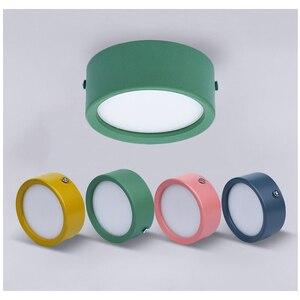 Image 4 - Oberfläche Montiert LED downlight 5W 7W 12W Decke Lampen Ultra Dünne Fahrer cob led spot lichter 220V Decke Leuchten Beleuchtung