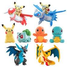 41 style Pikachued Charmander Bulbasaur Squirtle Pokemoned pluszowe zabawki Eevee Snorlax Jigglypuff wypchana lalka świąteczny prezent dla dzieci