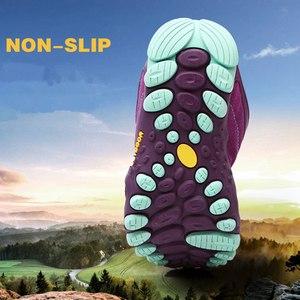 Image 5 - Veamors男性屋外ハイキングシューズ女性カジュアルジョギングスニーカー耐久観光キャンプ登山靴ユニセックス