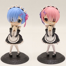 Anime Re Life In A Different World From Zero Remu Ramu Large dolls Maid Ver PVC Action Figure Collectible Model doll toy 14cm 1 4 scale re life in a different world from zero rem ram bunny ver kneeling ver resin naked collection anime figures