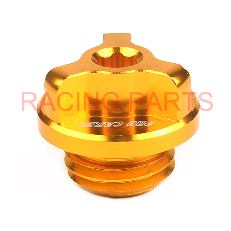 New CNC Engine oil filter Plug Bolts For ZONGSHEN NC250 HUAYANG T6 K6 J5 motorcycle engine spare parts Free shipping