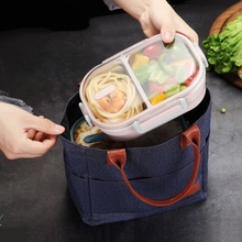 Practical Portable Japanese-style Stainless Steel Lunch Box Compartment Sealed Bento Insulated kitchen Accessories