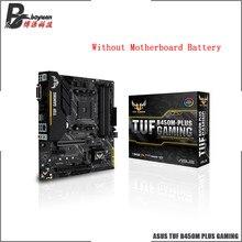 ASUS TUF B450M artı oyun B450M AMD B450 DDR4 4400MHz 128G,M.2, HDMI 2.0B, tip C ve yerli USB 3.1 Gen 2 masaüstü AM4 CPU