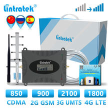 lintratek GSM 2g 3g 4g Cellular signal amplifier singel band booster Repeater 900 2100 1800 850 LTE DCS booster WCDMA UMTS Call