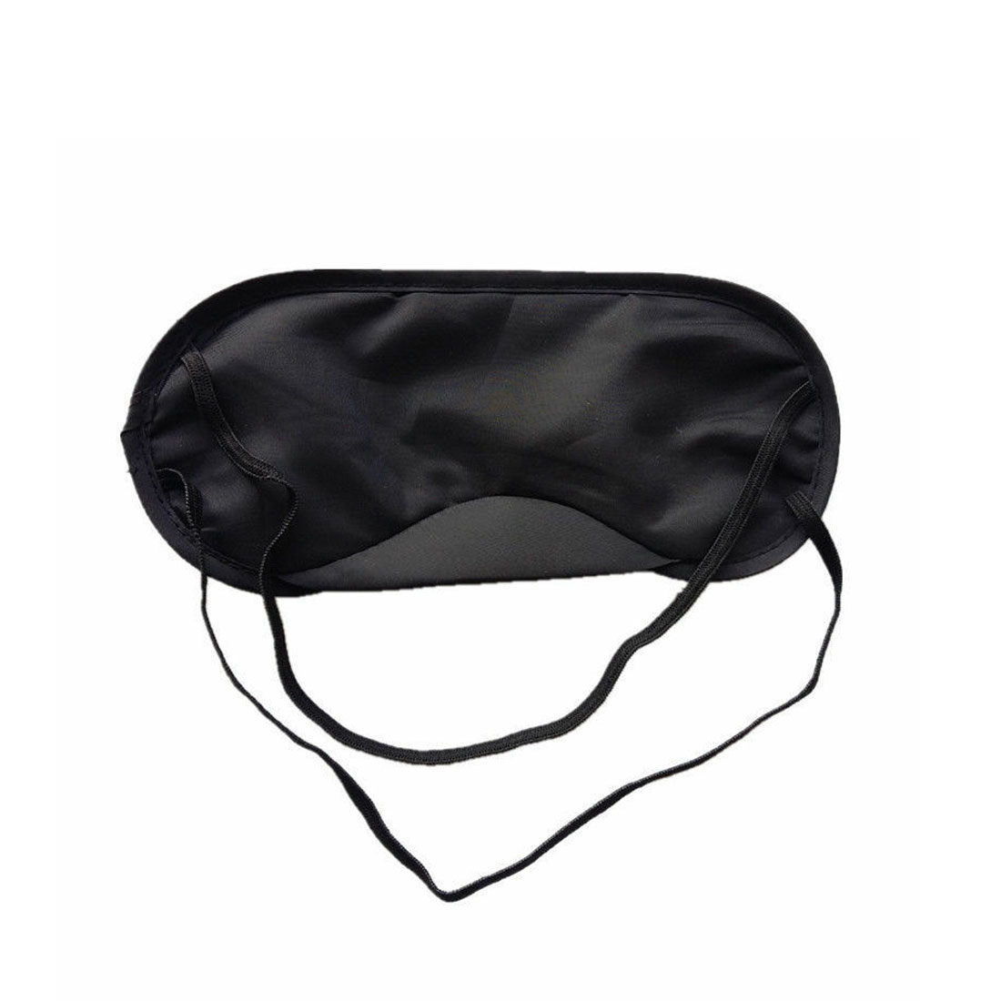 1pcs Pure Silk Sleep Eye Mask Padded Shade Cover Travel Relax Aid Non-woven Sleep eye mask 1