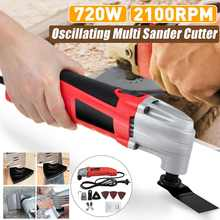 Trimmer Oscillating Electric-Saw Multifunction-Tool Renovator 720W Home-Decoration Variable-Speed