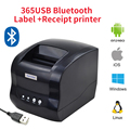 Xprinter XP-365BLabel printer thermal barcode printer sticker printer 20-80mm paper in Supermaket For Windows/Linux/Mac