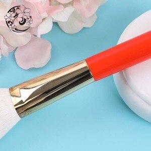 Image 5 - Energie Merk Geitenhaar Contour Borstel Cosmetische Make Up Kwasten Pinceaux Maquillage Brochas Maquillajes S106W