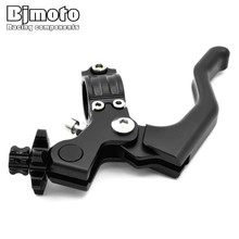 For 22mm 7/8 handlebar 2019 Motorcycle Stunt Clutch Lever Assembly Adjustable Folding Extendable CNC Aluminum T6061