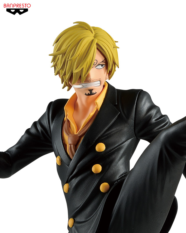 PrettyAngel - Genuine Banpresto BATTLE RECORD COLLECTION ONE PIECE SANJI Collection Figure 2