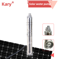 2019 new type dc brushless water pump solar submersible bore pump for sale wave pool water pump water pump shaft seal