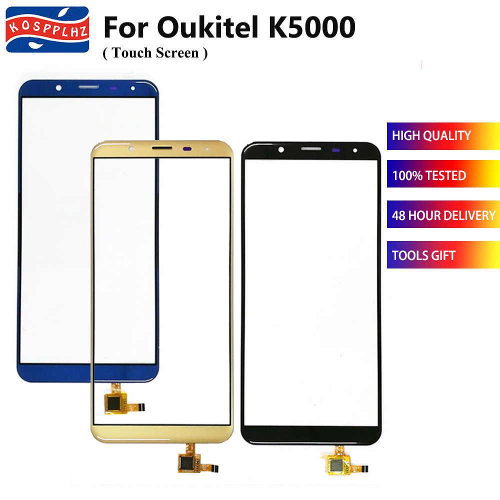 KOSPPLHZ Für Oukitel K5000 Touchscreen Glas Panel TouchScreen Sensor Für Oukitel K 5000 Handy Front Glas Objektiv Panel