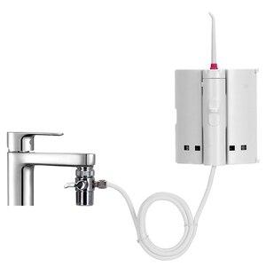 Image 2 - 10 dicas torneira irrigador oral água portátil dental flosser boca de lavagem água picareta jato irrigador dental para a limpeza dos dentes