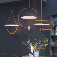 modern Led Pendant Lights Minimalist Designer Dining Room Hanging Lamp Living Room Kitchen Home Art Decor light fixtures