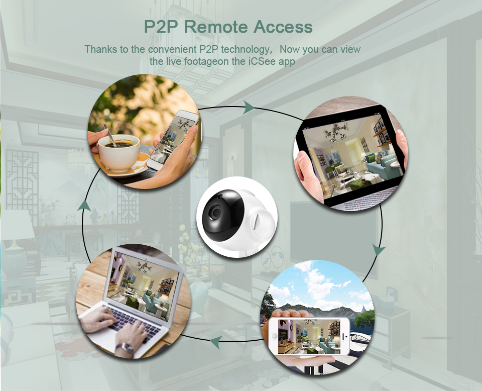 He11400b9c23842a28004020810de88fas BESDER Home Security IP Camera Wireless Smart WiFi Camera WI-FI Audio Record Surveillance Baby Monitor HD Mini CCTV Camera iCSee
